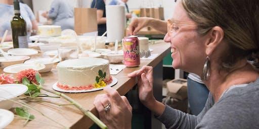 Festive Flower Cake Decorating Workshop