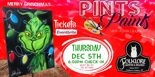 The Grinch at Folklore Brewing