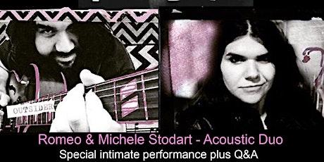 Gunnersbury Unplugged:  Romeo & Michele Stodart of THE MAGIC NUMBERS tickets