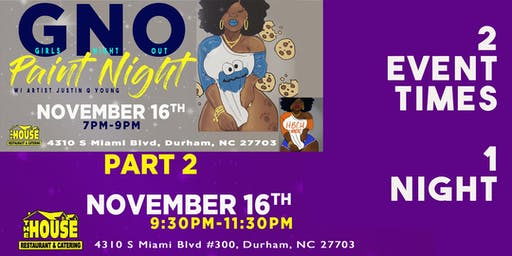 SOLD OUT !!!Girls Night Out Paint Night- Durham