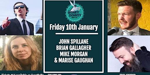 John Spillane, Brian Gallagher, Marise Gaughan