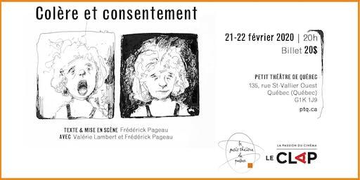 Colère et consentement - 21 février