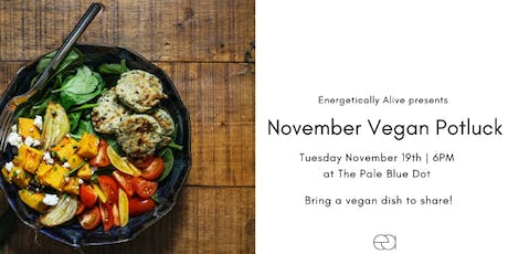November Vegan Potluck tickets