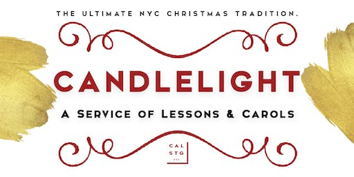 CANDLELIGHT: A Service of Lessons & Carols