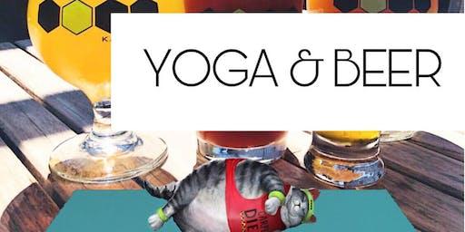 Yoga and Beer at Karben4 Brewing
