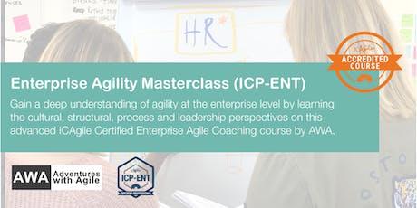Enterprise Agility Masterclass  (ICP-ENT) | London - January 2020 tickets