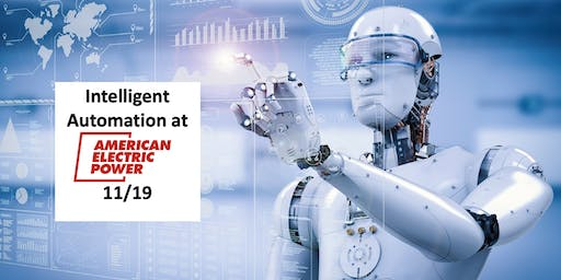 Intelligent Automation Meetup - The Future of Work and RPA examples at AEP