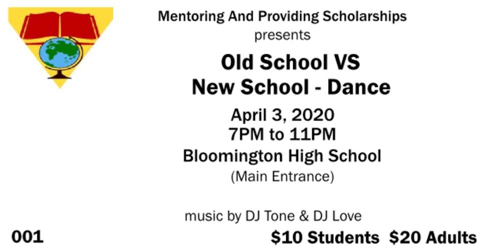 Bloomington Il April 2020 Events.Old School Vs New School Dance