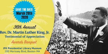 36th Annual Rev. Dr. Martin Luther King, Jr Awards Banquet tickets
