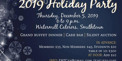 2019 Press Club of Long Island Holiday Party