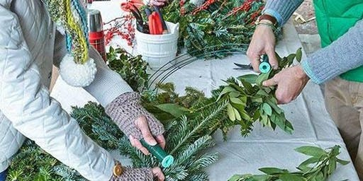 NEW CLASS - Holiday Wreath Workshop