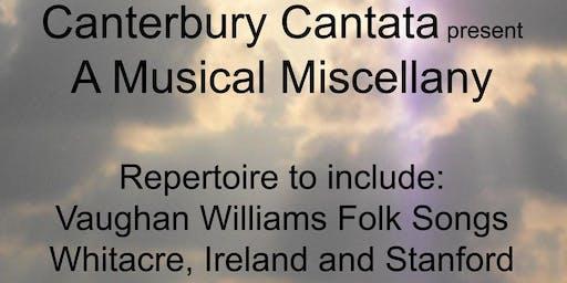 Canterbury Cantata present a Musical Miscellany