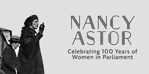 Nancy Astor Statue unveiling