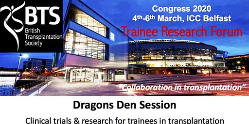 Dragons Den: Clinical trials and research for trainees in transplantation