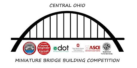 Central Ohio Miniature Bridge Building Competition 2020 tickets