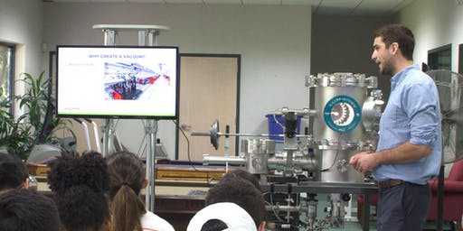 High Vacuum Demonstration and Tour