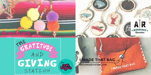 HOLIDAY CRAFT PARTY! w/ AR Workshop, Craft Hangout, I Made That Bag // 21+