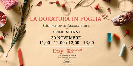 La doratura a foglia -  Workshop di decorazione di Spini Interni