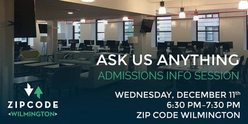 Admissions Information Session