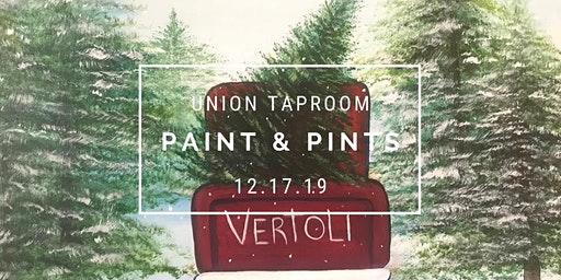 Paint & Pints - Christmas Tree Truck