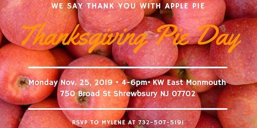 8th Annual William Hagan Group Thanksgiving Apple Pie Event!
