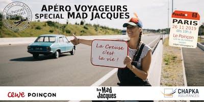 Apéro Voyageurs Paris spécial Mad Jacques