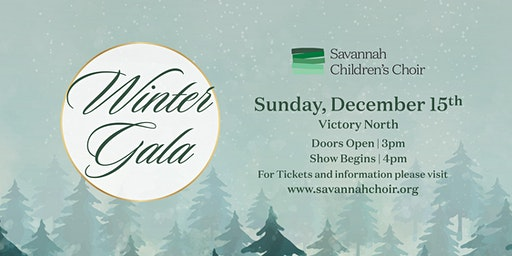 Savannah Children's Choir Winter Gala