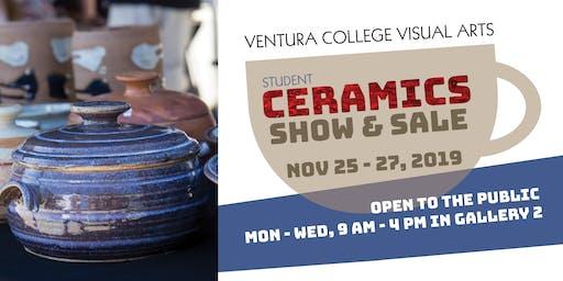 Ventura College Student Ceramic Show & Sale