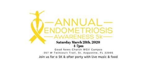 3rd Annual End Endo 5k tickets
