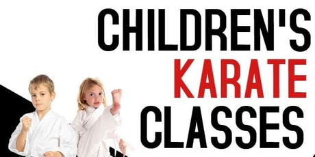 Children's Martial Arts Class tickets