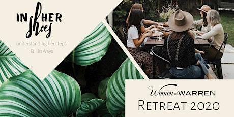 Women of Warren Retreat 2020 tickets