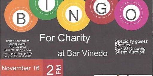 Signs of Sunshine Bingo for Charity at Bar Vinedo