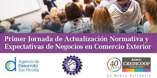 1º Jornada de Actualización Normativa y Comercio Exterior