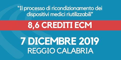 ECM -Il processo di ricondizionamento dei dispositivi medici riutilizzabili