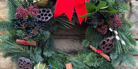 Christmas Wreath Workshop with The Flower Shop, Ossett tickets
