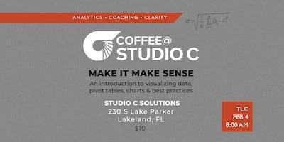 Coffee@StudioC: Make It Make Sense