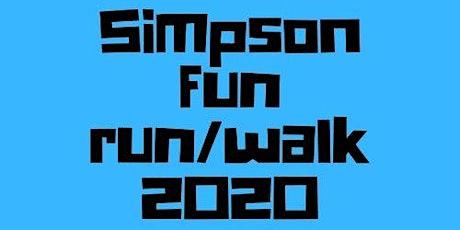 Simpson Fun Run/Walk 2020 tickets