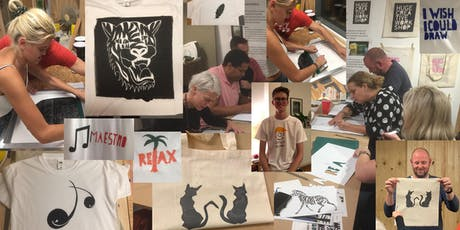 Screen-printing for beginners tickets