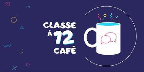 Classe à 12 café tickets