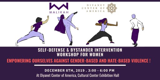 Self-Defense Class at Diyanet Center of America
