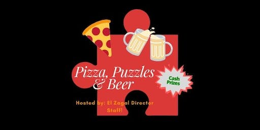 Puzzle, Pizza & Beer