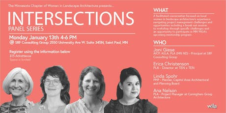 Panel Series - INTERSECTIONS - WILA tickets