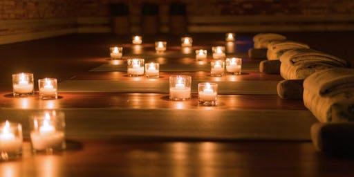 Candlelit Silent Night Yoga 4:30 pm