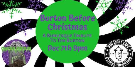 Burton Before Christmas: A Burlesque Tribute to Tim Burton! tickets