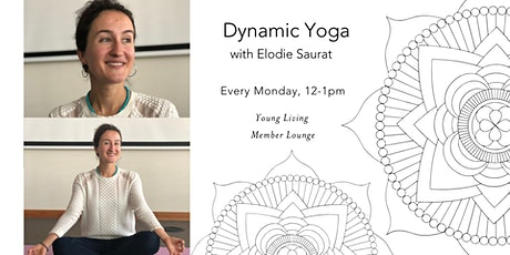 Dynamic Yoga with Elodie Saurat tickets