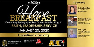 2020 Hope Breakfast