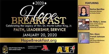 2020 Hope Breakfast tickets