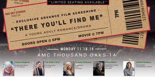 """There You'll Find Me""  Advance Feature Film Screening"