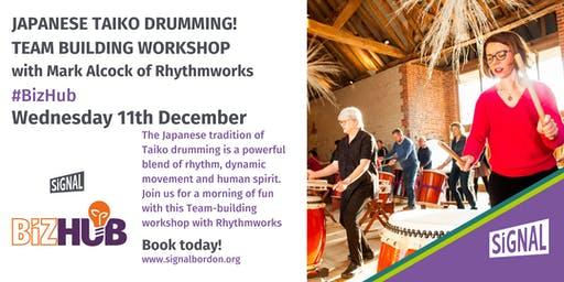 Japanese Taiko Drumming -  Team Building Workshop with Mark Alcock