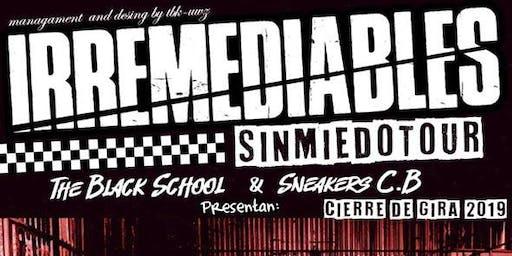 Irremediables SinMiedoTour Cierre de Gira 2019 CDMX